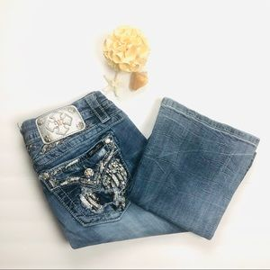 Miss Me | Mid Rise Easy Boot Jeans Size 29